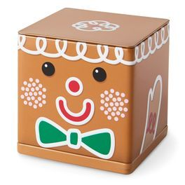 Gingerbread CUBEEZ Container,