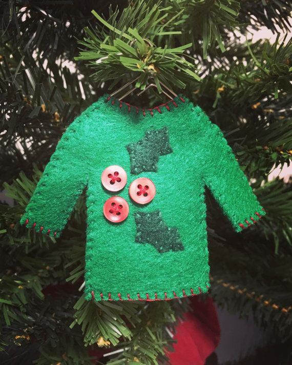 Ugly Sweater Ornament | Halloween | Pinterest | Wire hangers ...