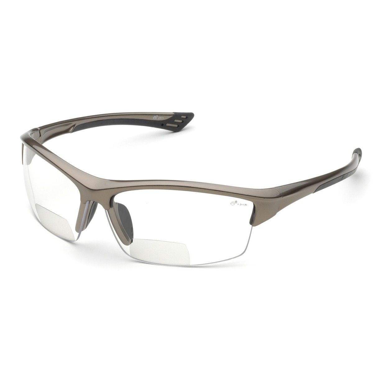 Elvex RX-350C Sonoma Safety Glasses - Glossy Bronze Frame - Clear Anti-Fog  Bifocal Lens - This product is versatile in multiple environments and  offers ... 5697a83b40