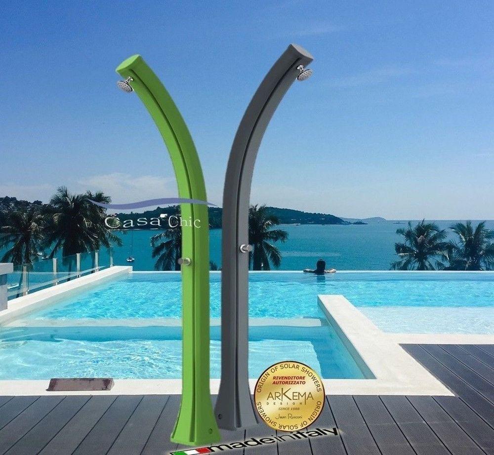 Dettagli su Doccia Solare da giardino piscina HAPPY XL 44