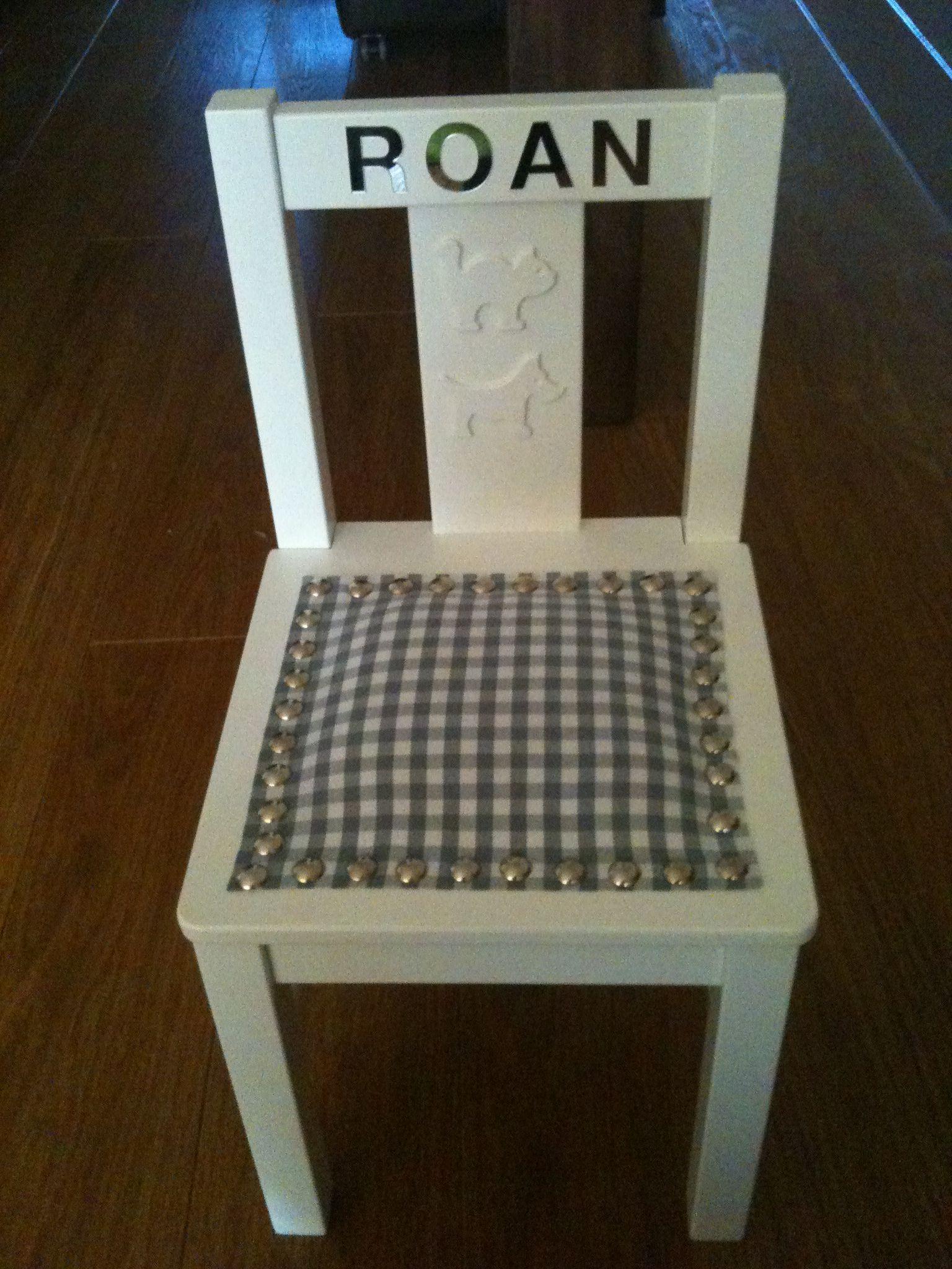 Verwonderend Ikea kinder stoeltje pimpen (met afbeeldingen) | Meubels opknappen WW-77