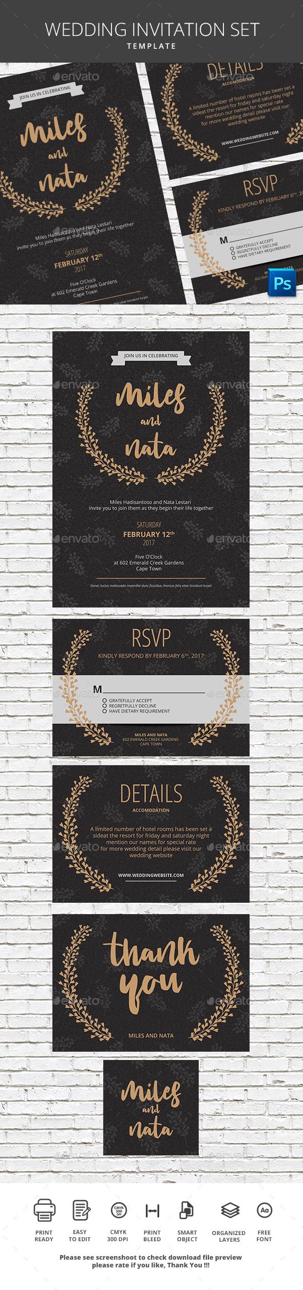 Wedding Invitation | Template