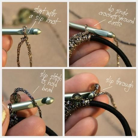 DIY #2: Beaded Hair Elastics
