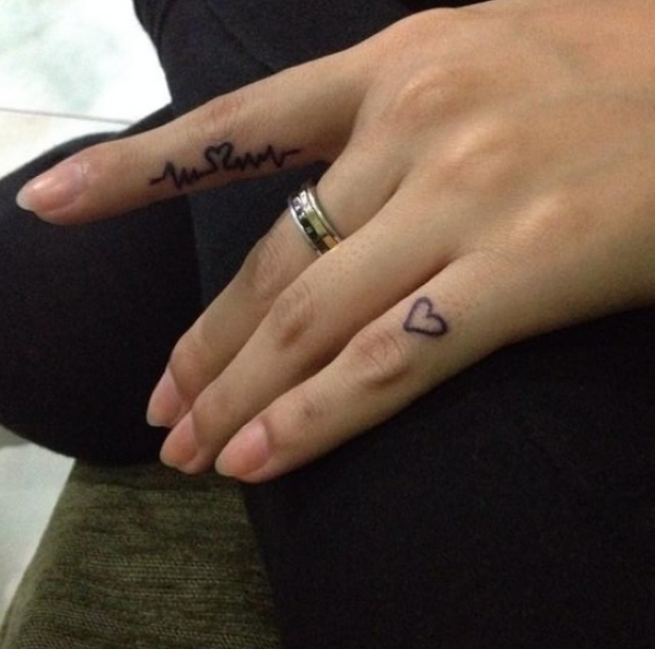 Small Tattoo Ideas and Designs for Women Finger tattoos