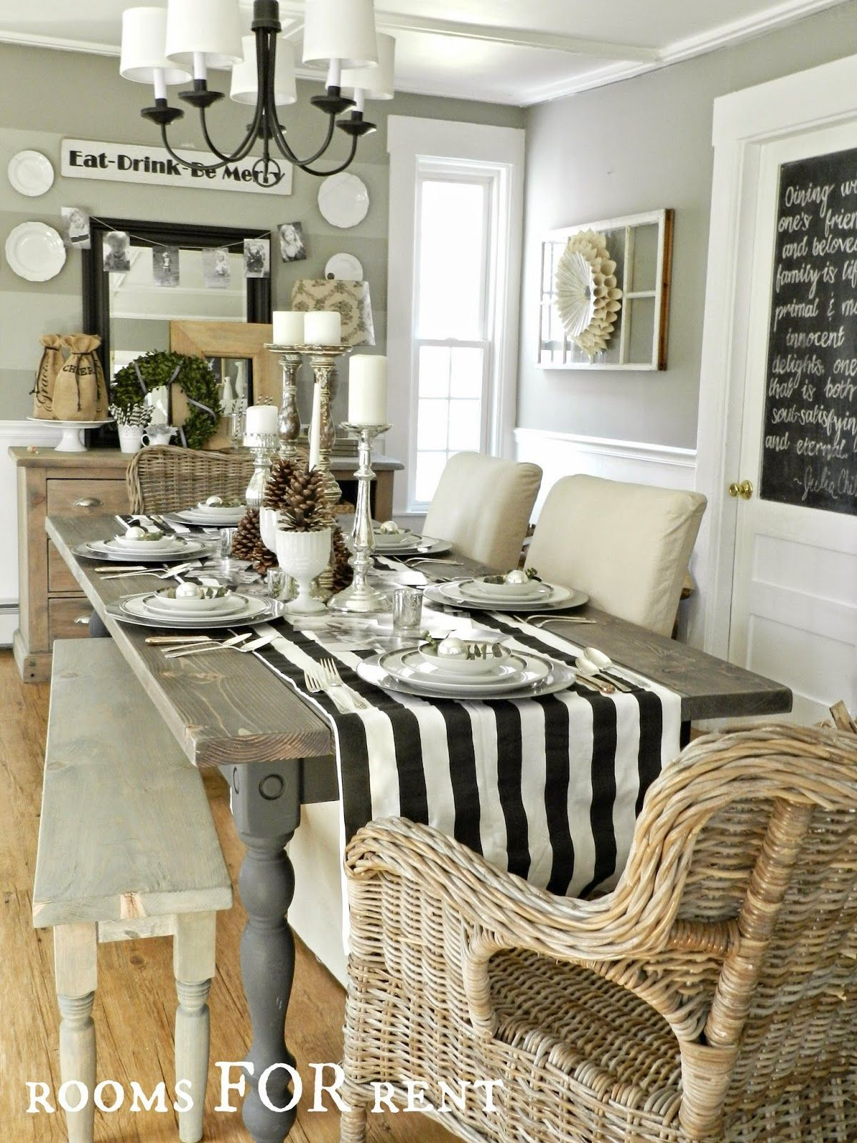 Room For Rent Design: Holiday Entertaining (~rooms FOR Rent~)