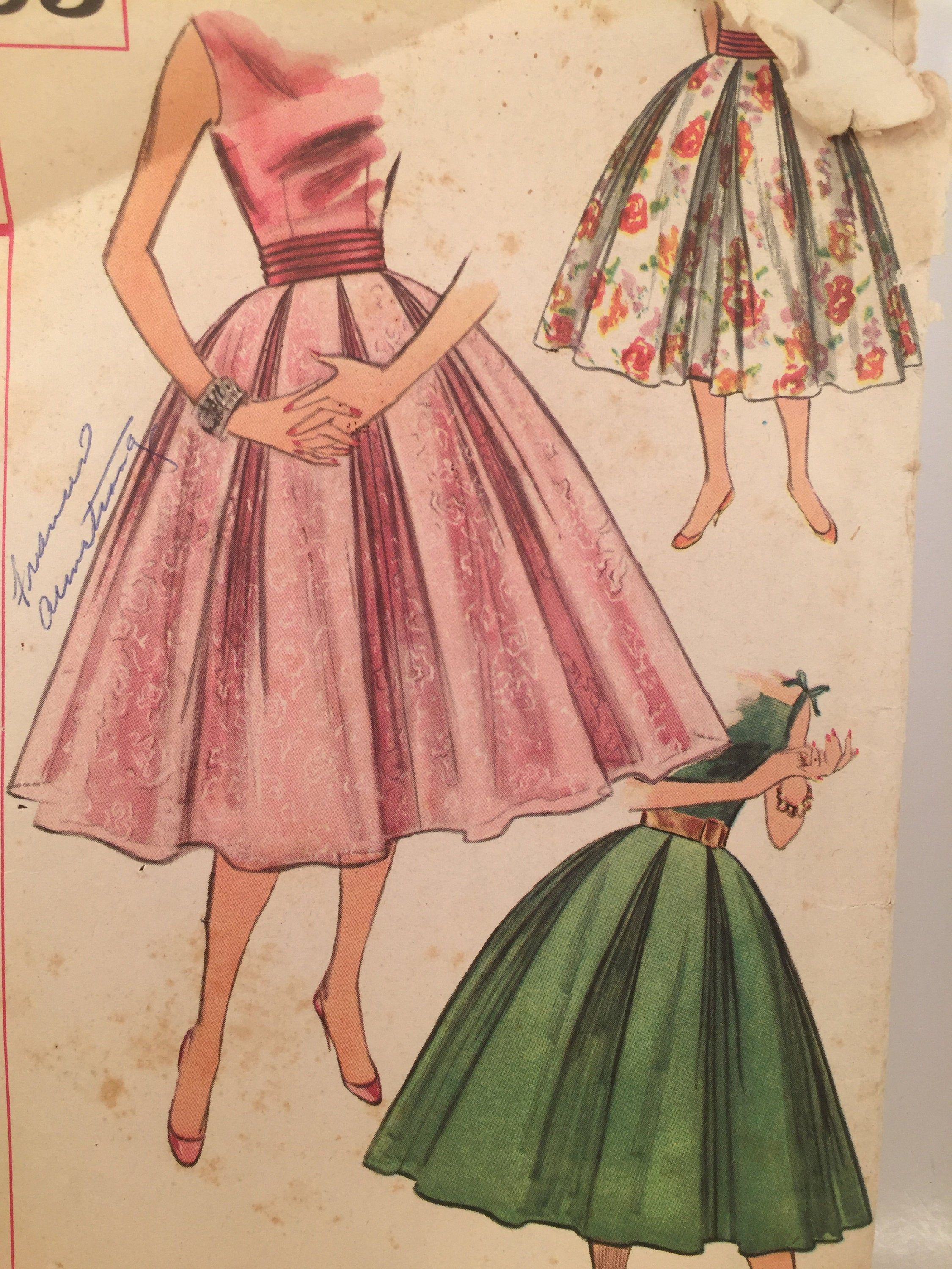 Pin On 1950s Sewing Patterns
