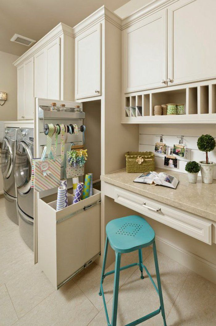 1001 id es comment am nager sa buanderie fonctionnelle laundry laundry rooms and room. Black Bedroom Furniture Sets. Home Design Ideas