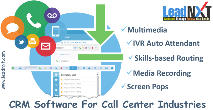 Crm Software For Callcenter Industries Our Crm Solution Help