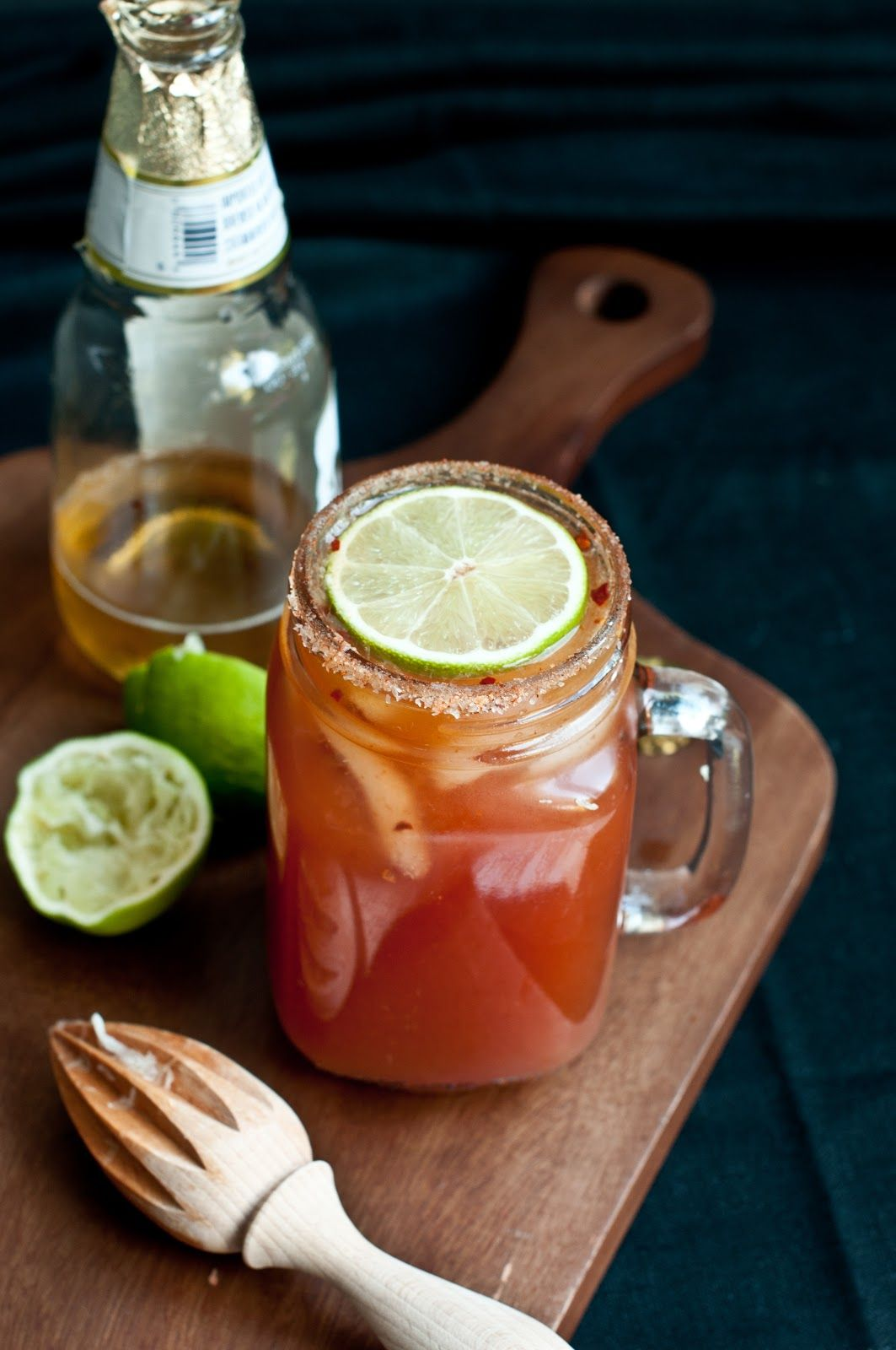 Cocktails: Michelada | andy & belle  #cocktails #michelada #foodphotography