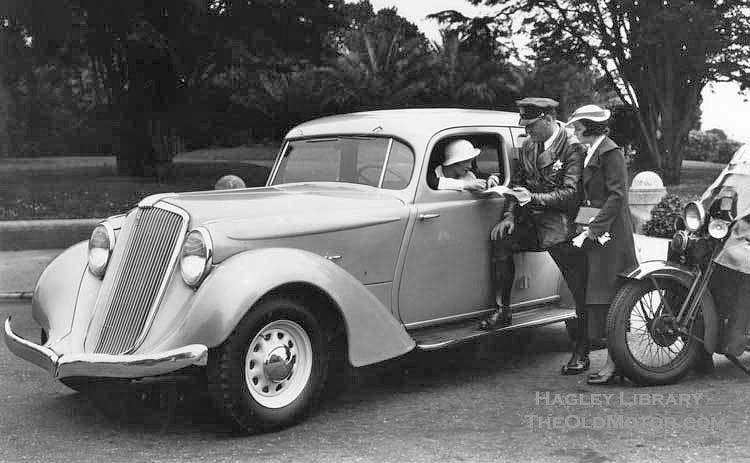 Huppmobile 1934-35