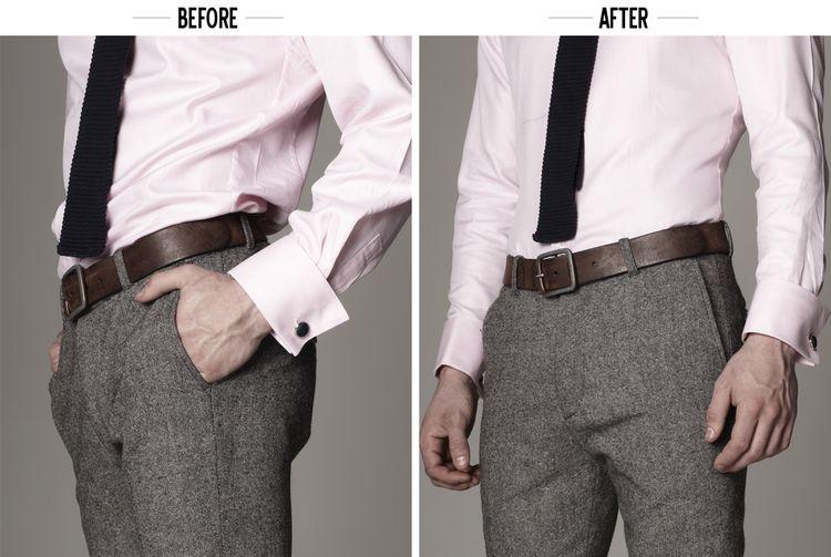 ed935a1b6 KK&Jay Shirttail Garters ($25)   wear it   How to wear shirt, Shirt ...