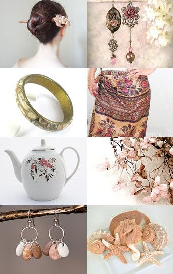 A Pink Autumn by Linda Karen on Etsy--Pinned with TreasuryPin.com
