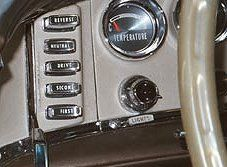 Push button transmissions in 1956, and lasted until 1966