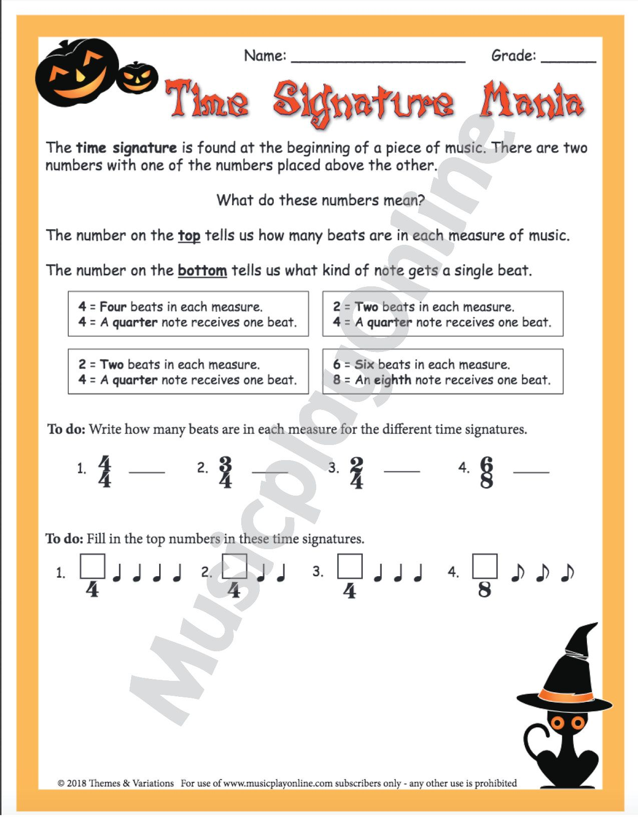 Use This Spooky Halloween Themed Worksheet To Teach