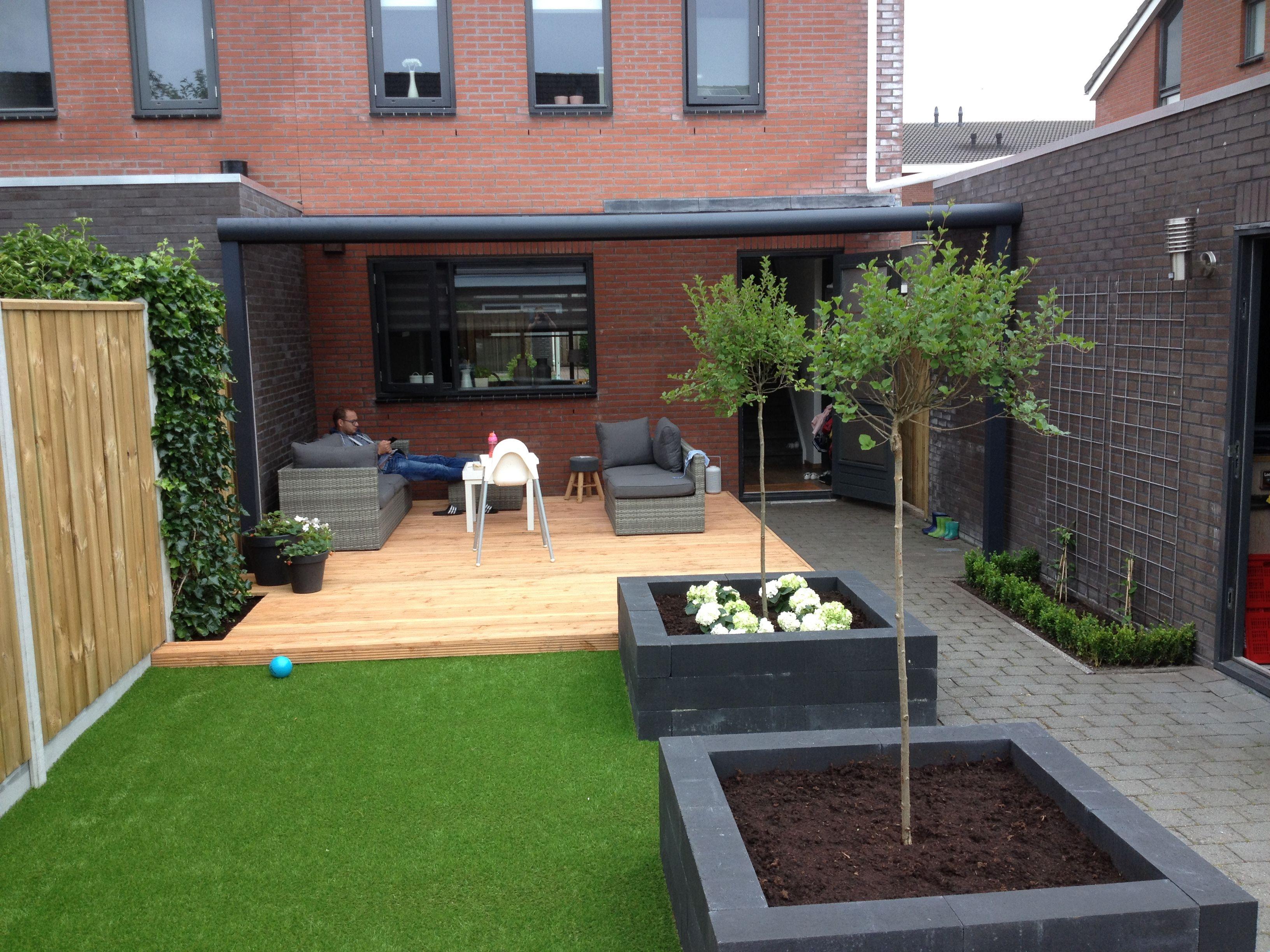 Onderhoud's vriendelijk en strakke tuin!