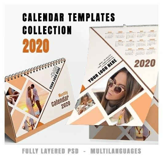 Calendario Tedesco 2020.Calendars Collection 2020 V 2 Calendar 2020 Modelli Di