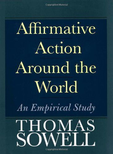 Affirmative Action Around the World An Empirical Study BY Thomas