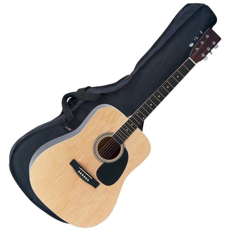 Maxam 41 Acoustic Guitar With Bag Strap Militarypg Guitar Acoustic Guitar Acoustic