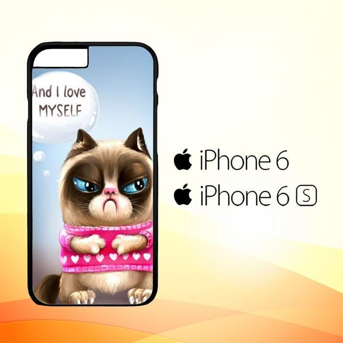 Grumpy Cat Wallpaper Y1768 Iphone 6 6s Case Products Pinterest