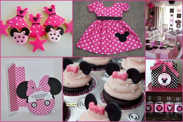 Minnie mouse baby shower decorations baby shower for Baby minnie mouse party decoration