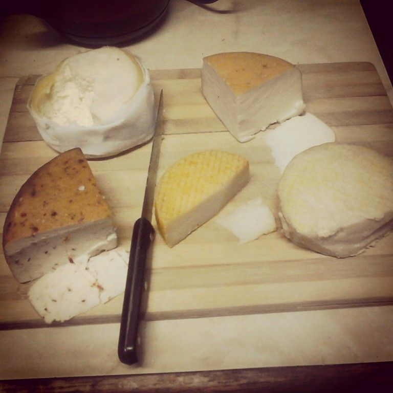 Hedonism is great. My new vices, cheese with paprika, cheese with garlic.