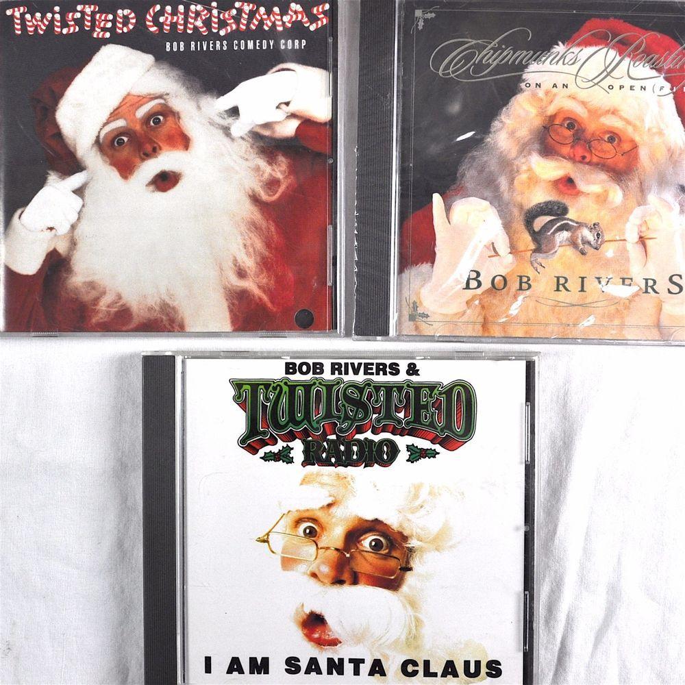 Bob Rivers Twisted Christmas.Bob Rivers Christmas 3 Cd Lot I Am Santa Claus Twisted