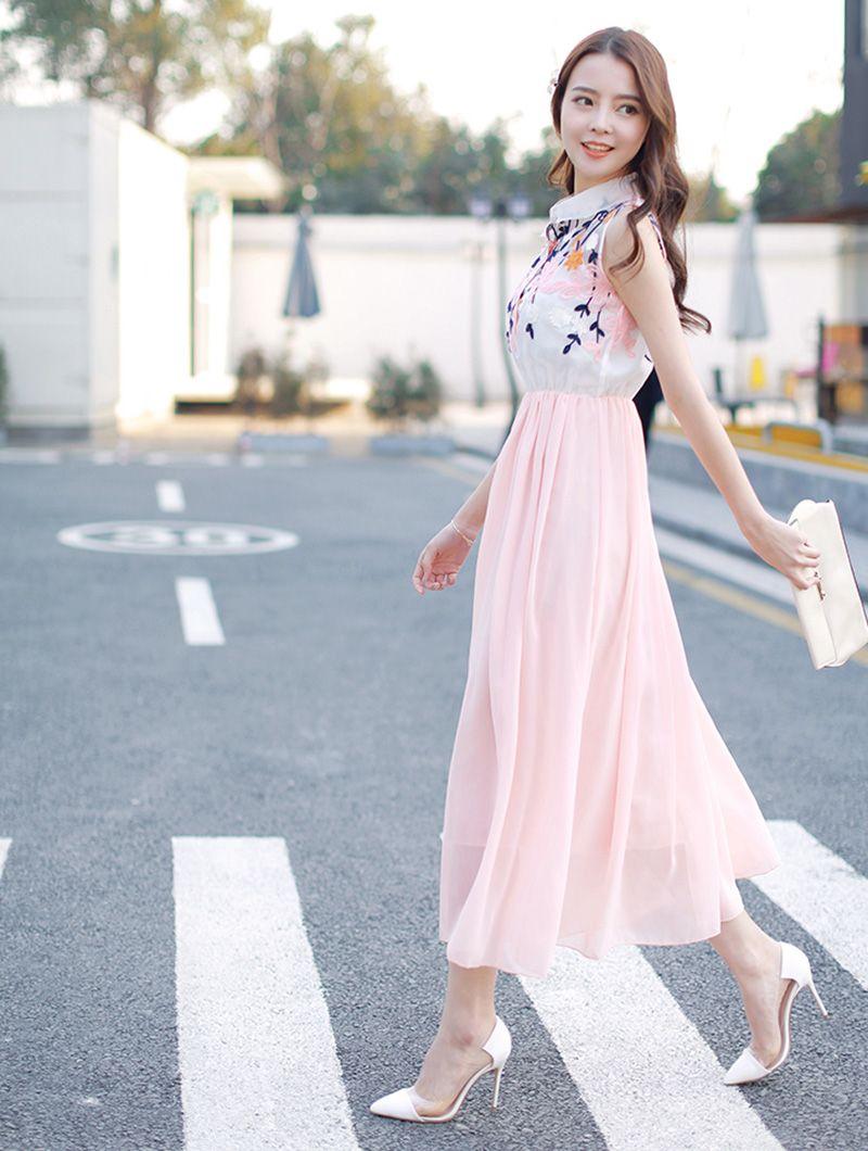 sweet spring dress