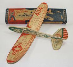 American Junior Balsa Wood Plane Stem Wood Plane