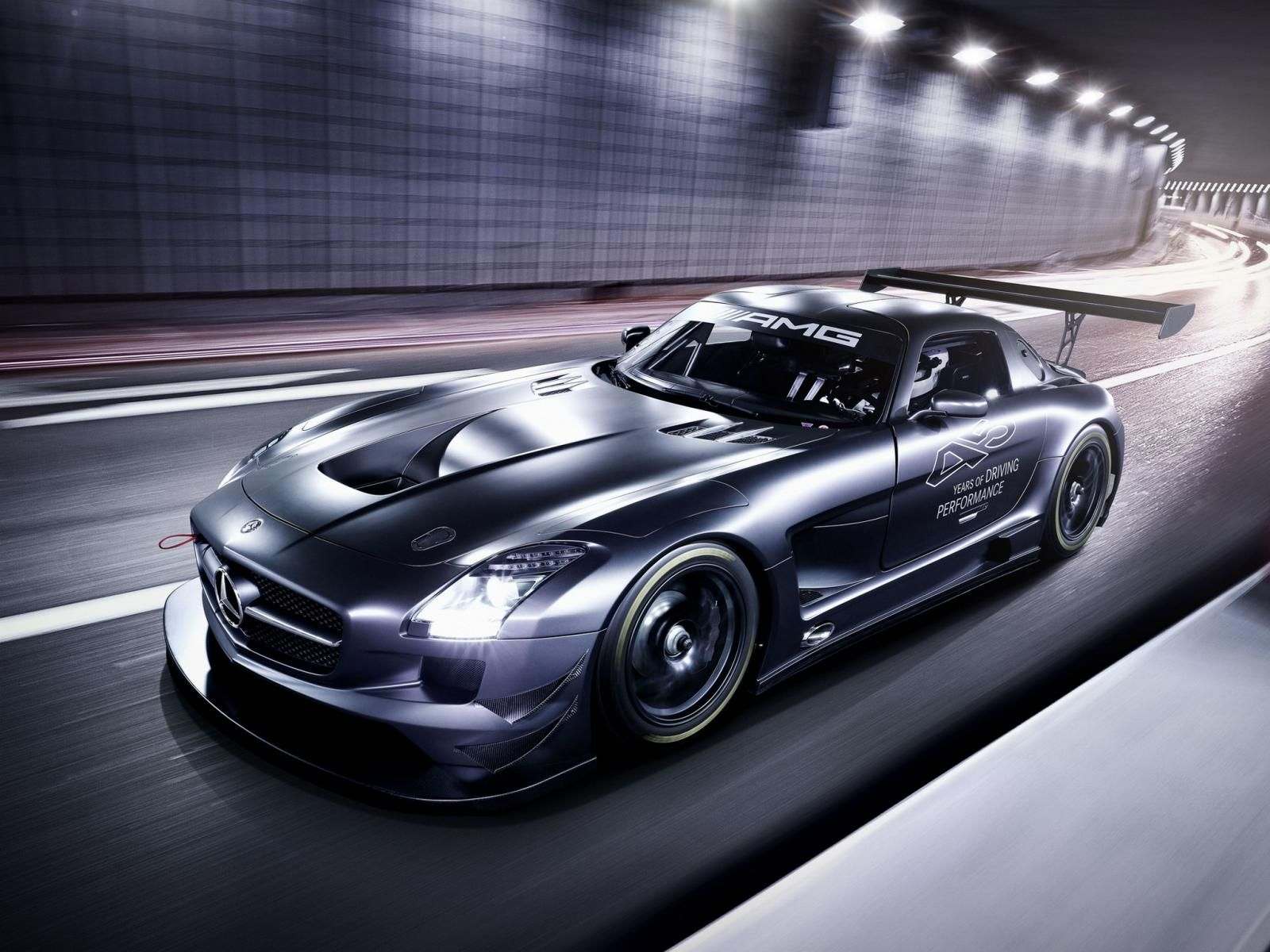 Mercedes Benz Sls Amg Gt3 45th Anniversary With Images