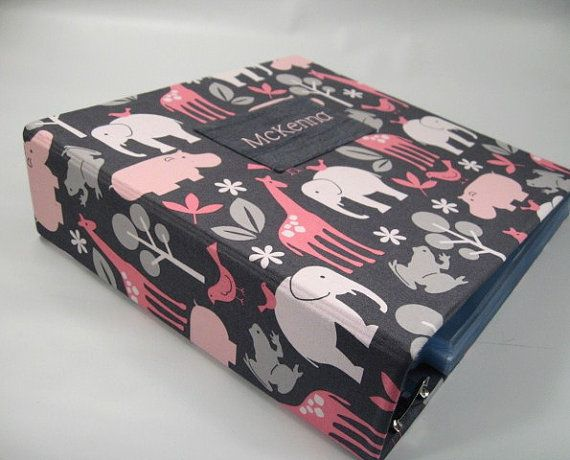 Baby Photo Album .girl .BLOOM ZOOLOGY .480 pictures by JaDazzles
