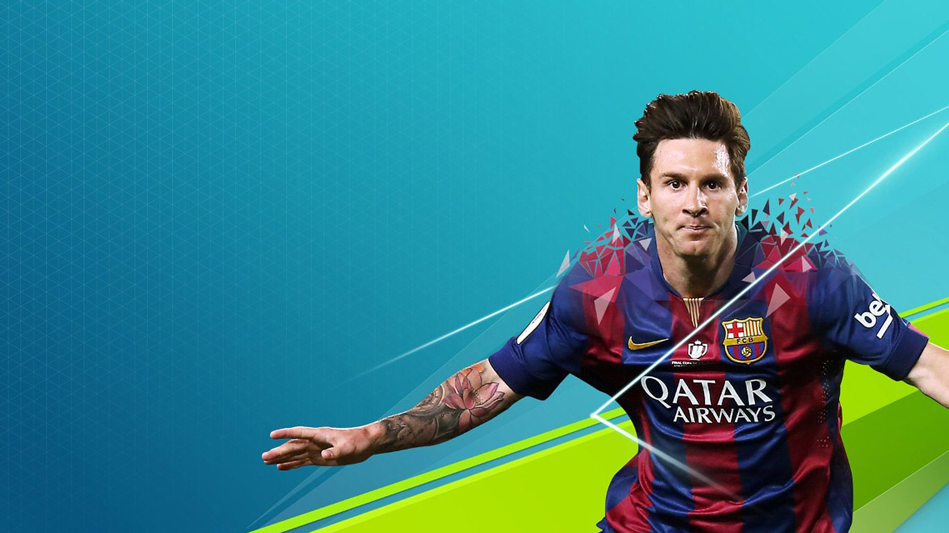 Fifa Wallpaper 1920x1080 Fifa Lionel Messi Fifa 16