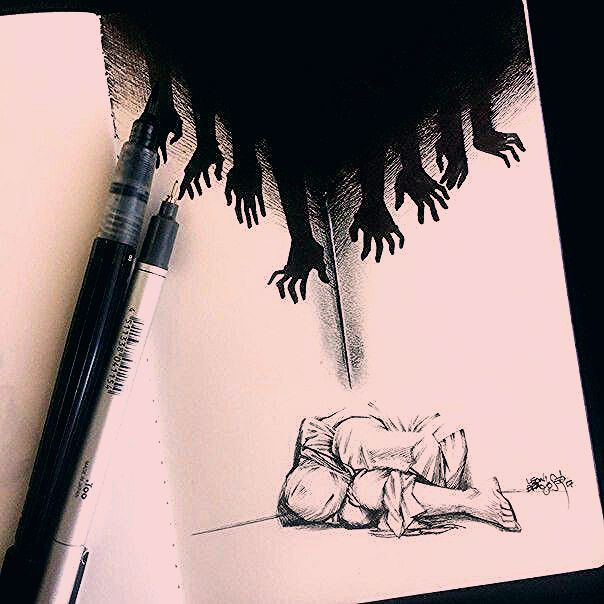 Photo of #art sketches #dont #hurt #nightmares #truth Die Alpträume tun nicht weh, sie l…
