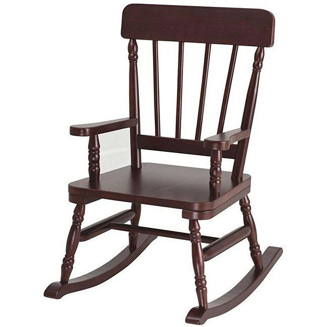 Enjoyable Simply Classic Cherry Rocking Chair Brown Levels Of Ocoug Best Dining Table And Chair Ideas Images Ocougorg