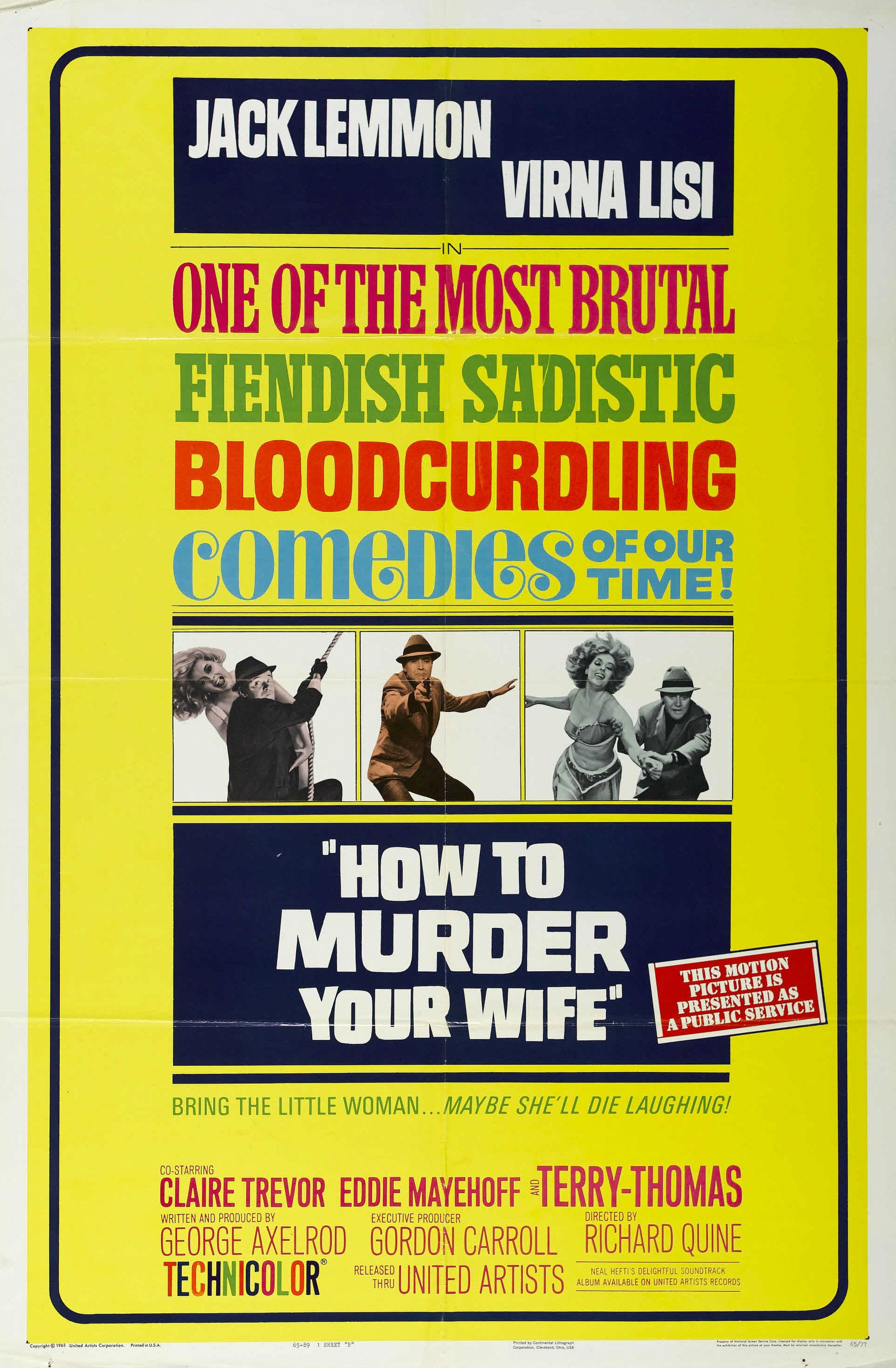 Pin On The Movie Poster Murders