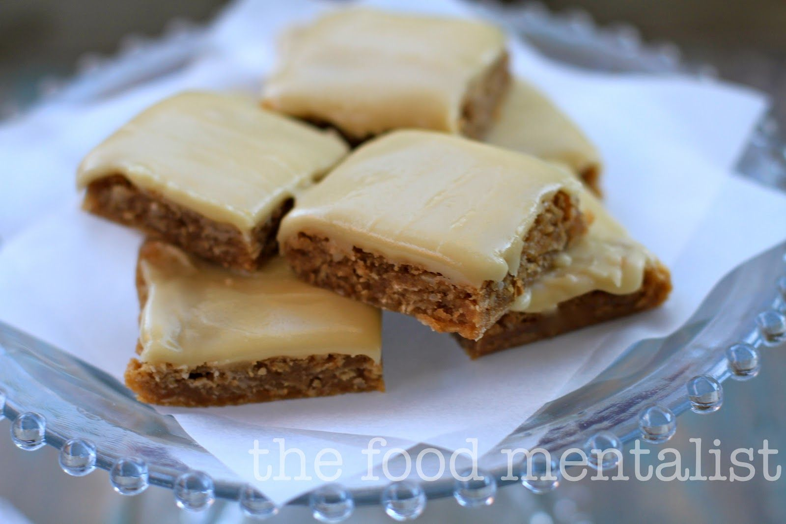 anzac day slice with icing - Google Search