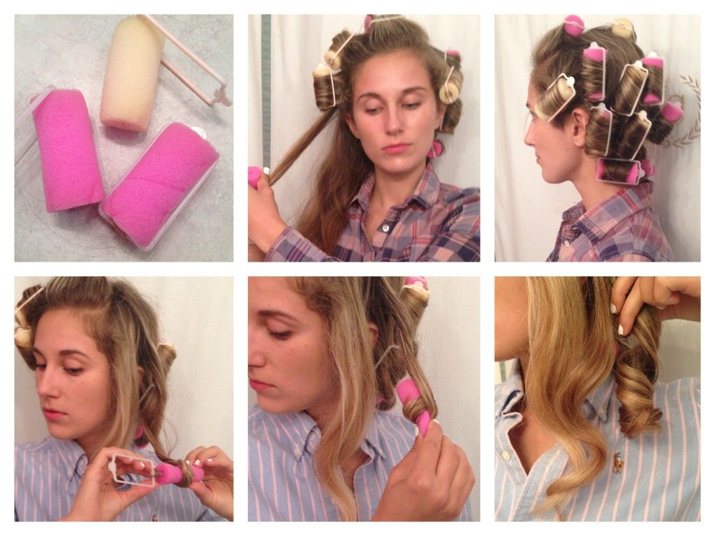 Using Foam Rollers For Curls Without Damaging Heat For Beautiful