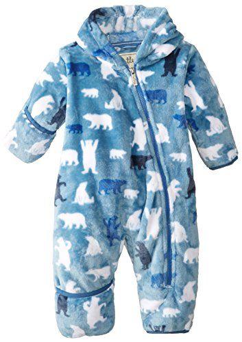 5fa45a09b7a7 Hatley - Baby Babys Infant Fuzzy Fleece Bundler - Polar Bear Boy ...