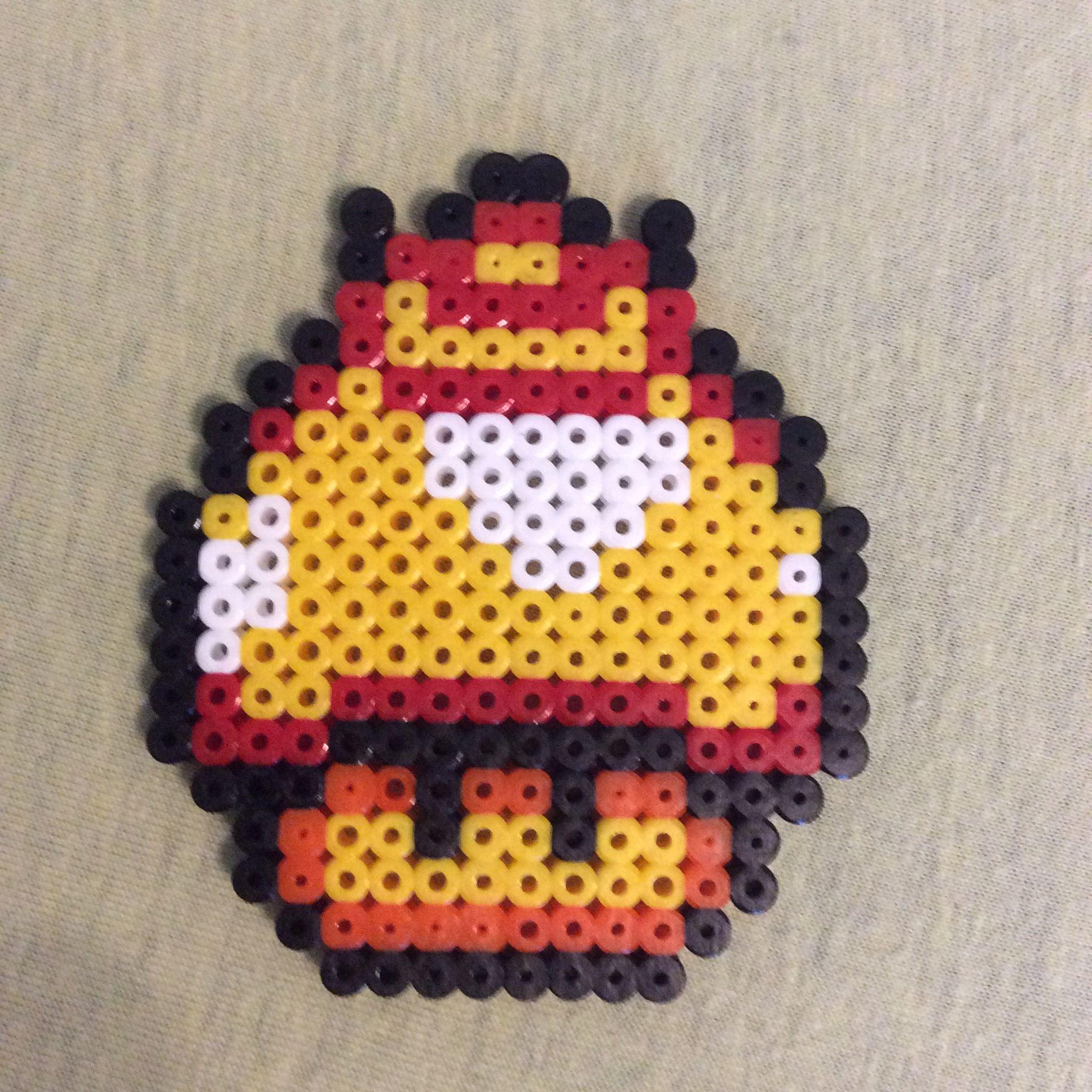 Feuer Aus Bgelperlen Super Mario
