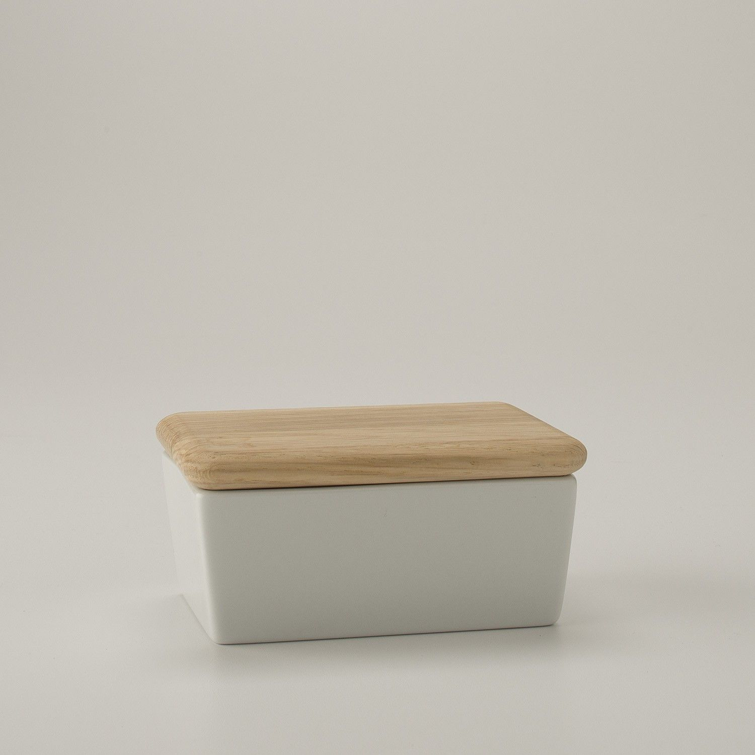 butter dish with oak lid  accessories  dining  kitchen  - butter dish with oak lid  accessories  dining  kitchen