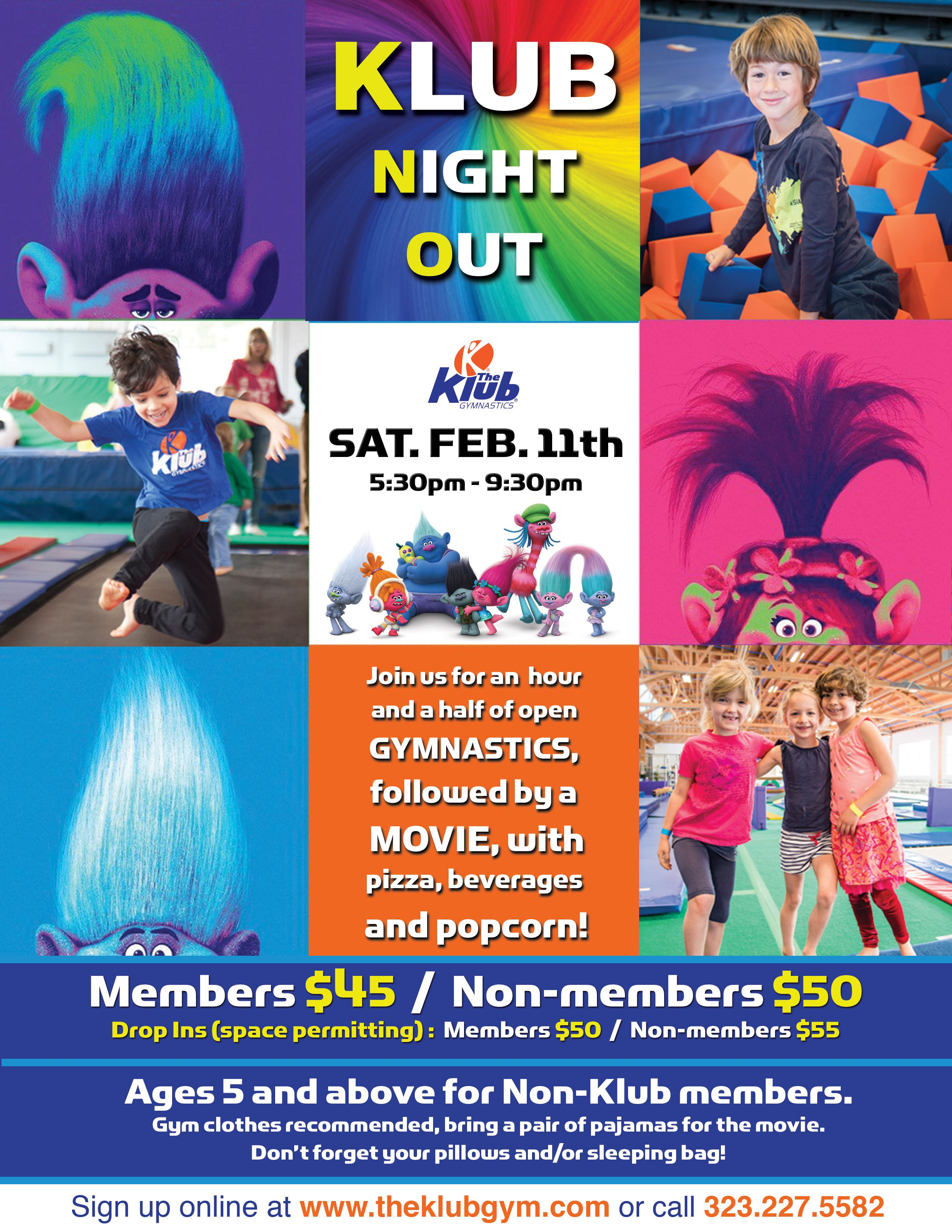 Join us for klub night out saturday feb11th 2017 reserve