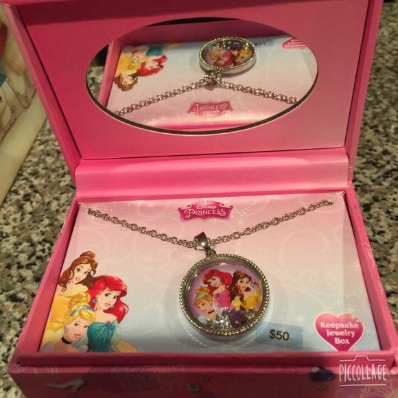Disney Princess necklace and jewelry box Disney jewelry