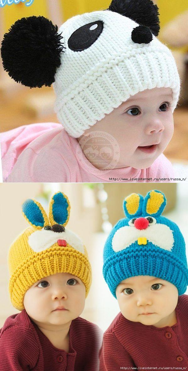 Photo of детские шапочки спицами   Фотографии и советы на Постиле