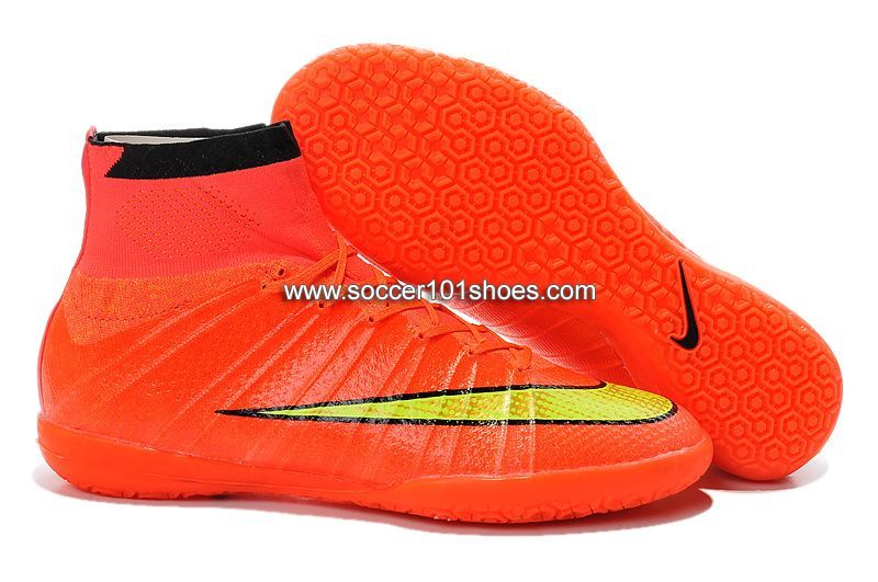 Nike Hombre Superfly Elastico Superfly Hombre Indoor IC Soccer Zapatos Hi Top Football caabe4