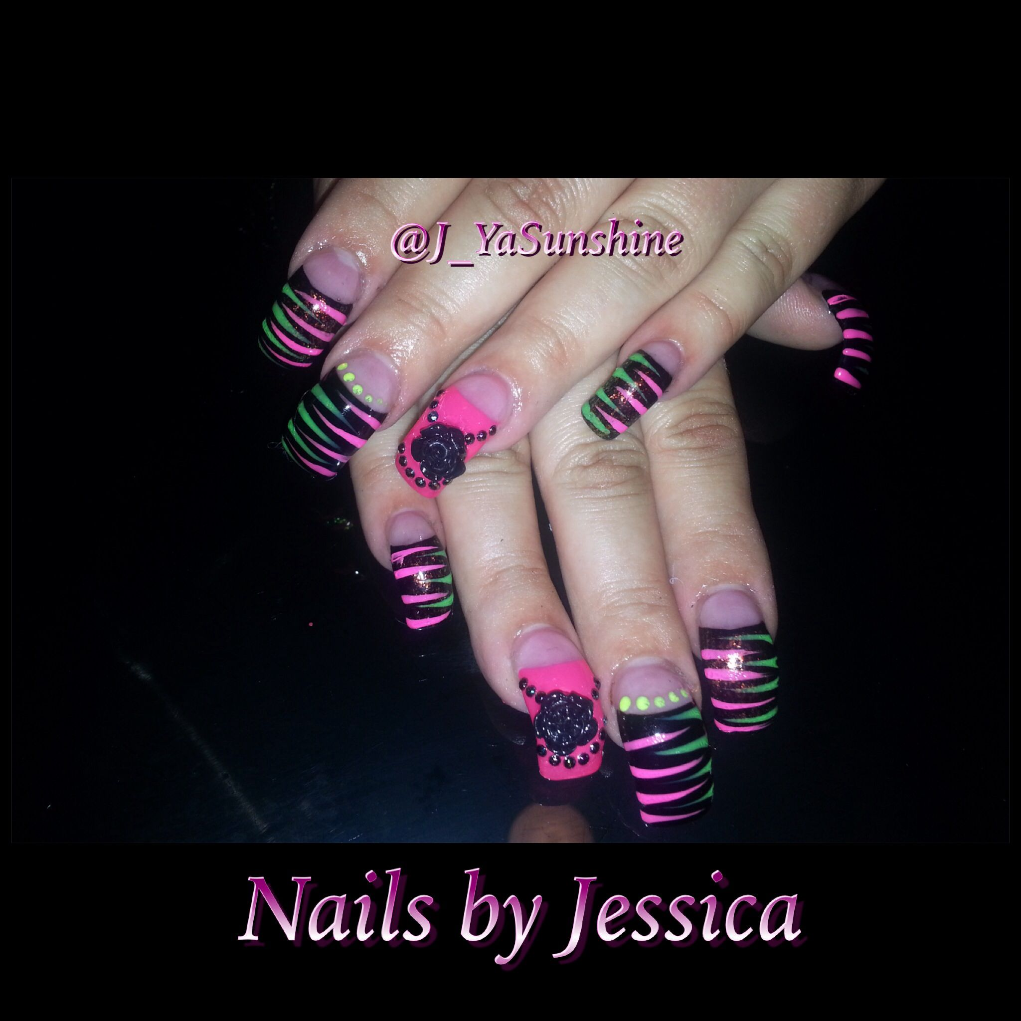 Curved nails   Nails By Yours Truly   Pinterest