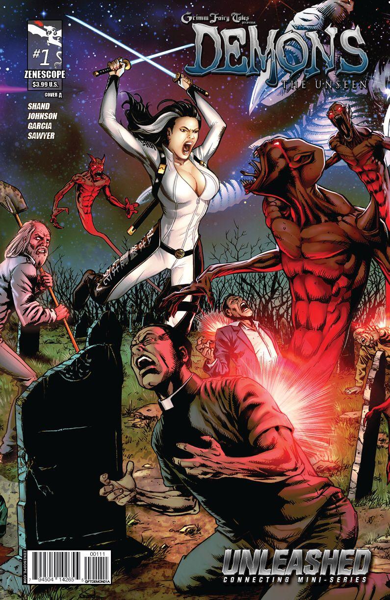 Demons The Unseen Part 1 __ Written By Pat Shand , Art Jason Johnson ,  Cover Art…