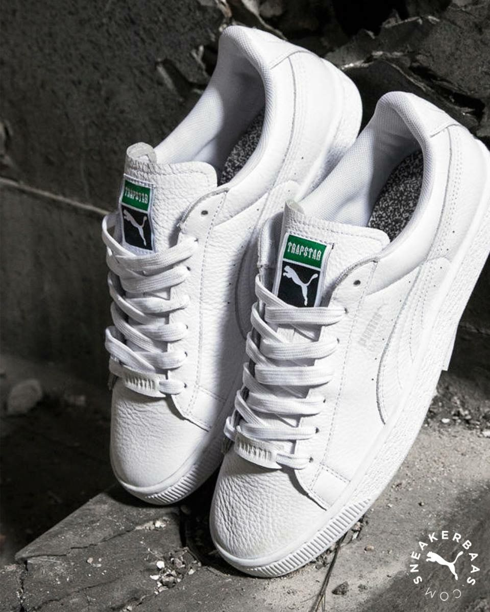 BASKET WHITE X TRAPSTAR - FOOTWEAR - Low-tops & sneakers PUMA X TRAPSTAR