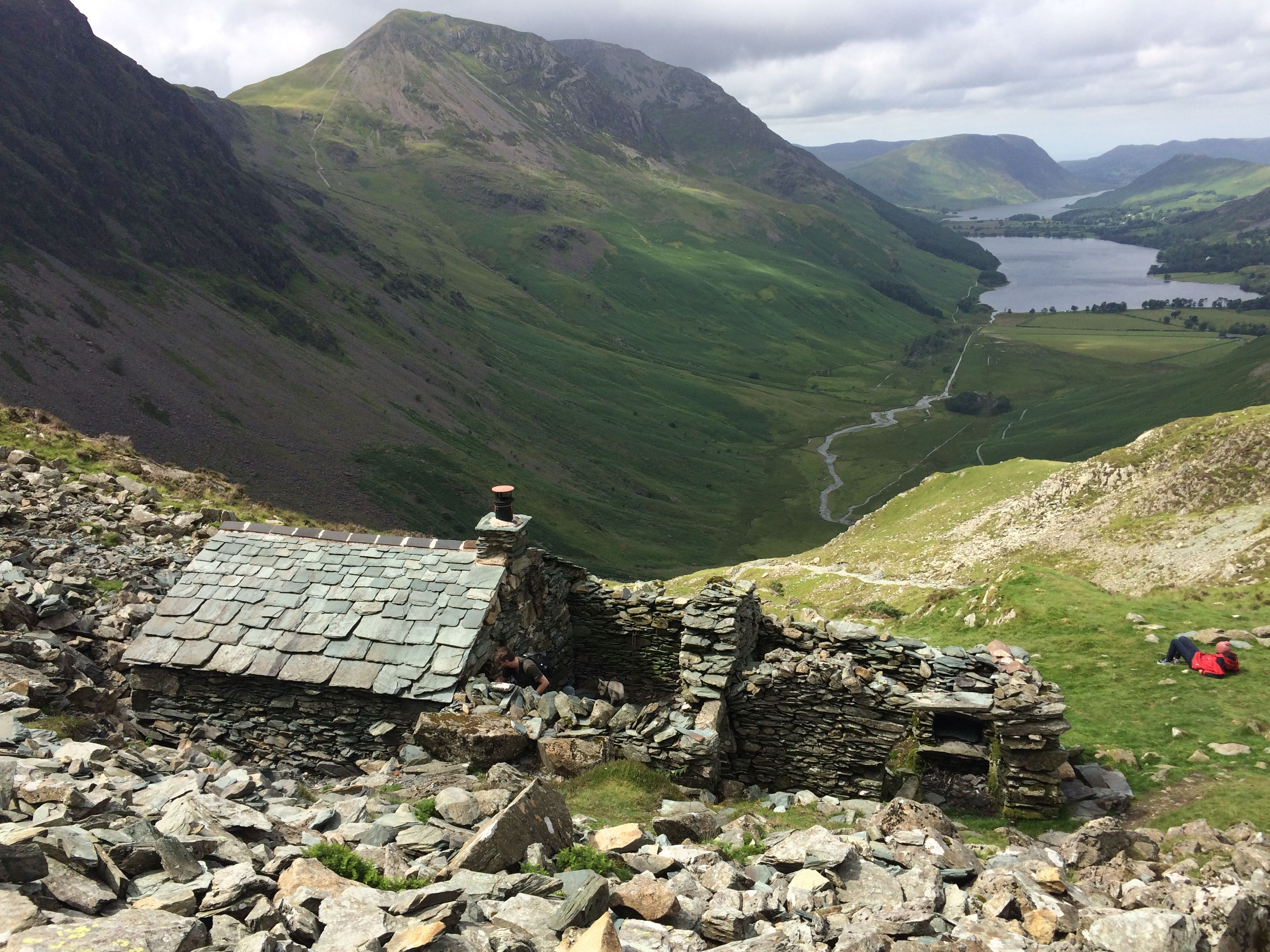 Warnscale Bothy Haystacks Buttermere In The Lake District Lake District England Lake District Scenery