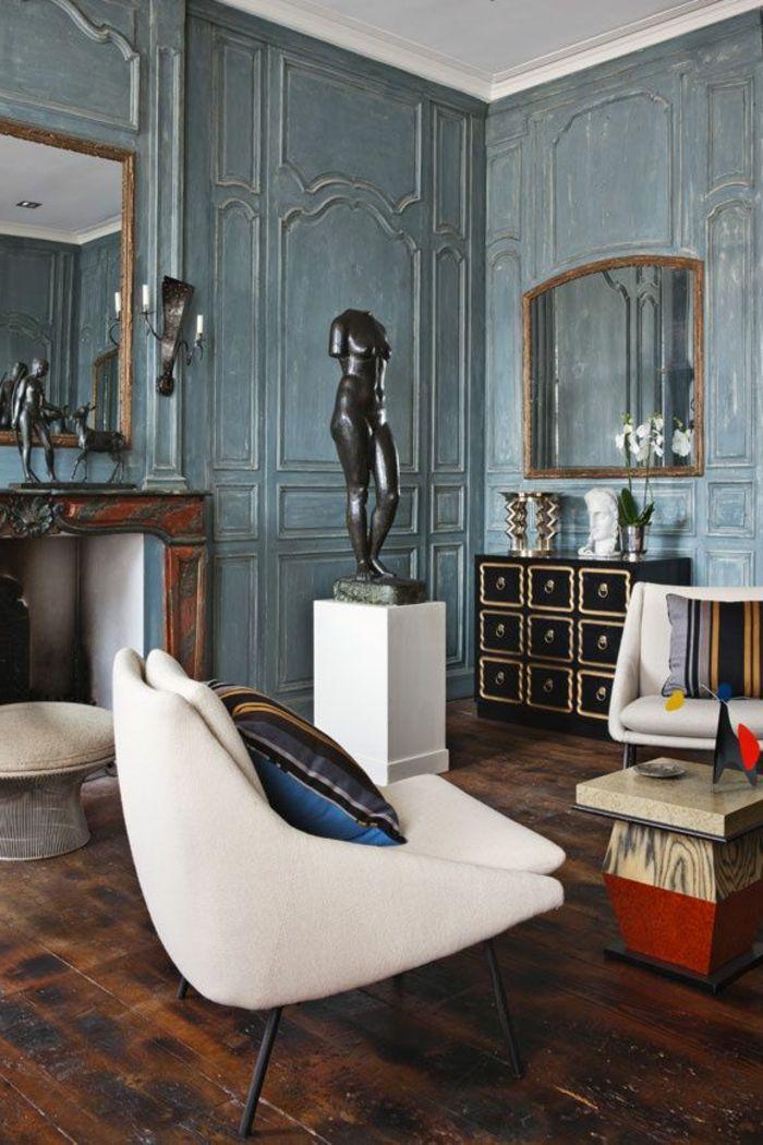 la moulure d corative dans 42 photos avec des id es design d int rieur pinterest moulures. Black Bedroom Furniture Sets. Home Design Ideas