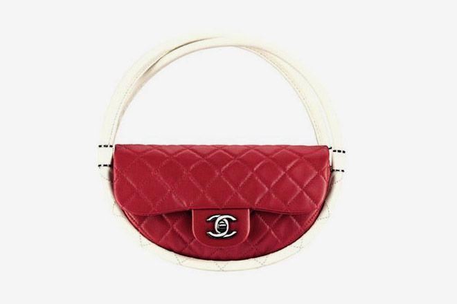 Chanel Update classic flap hoops