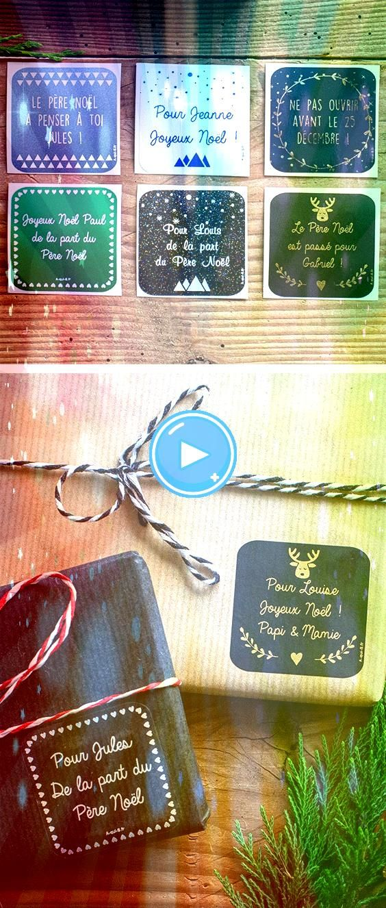 étiquettes de Noël personnalisables made in France livraison gratuite Pour embellir et apporter une jolie touche personnalisée à vos cadeaux de...